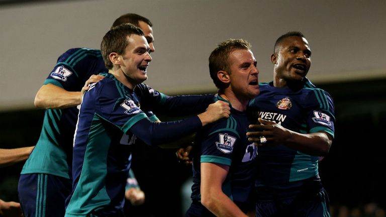 Sunderland scored twice within seven minutes of Petric's equaliser for Fulham