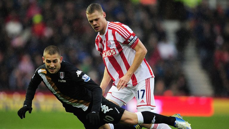 Ryan Shawcross: Enjoying life at Stoke and does not plan to leave