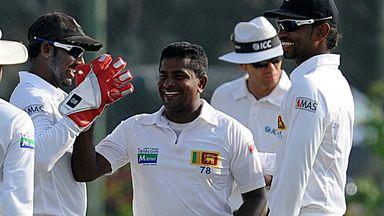 Rangana Herath: Earns captains' praise in Galle