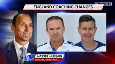 Nasser backs Giles appointment
