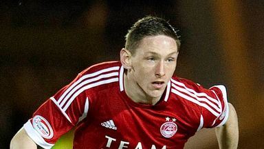 Declan McManus: New contract at Aberdeen