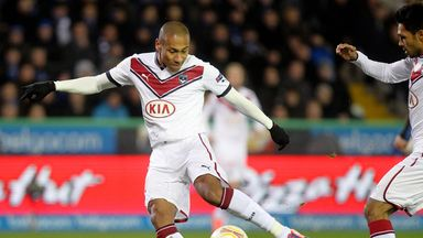 Jussie: Bordeaux have suspended the midfielder after he handed in a transfer request