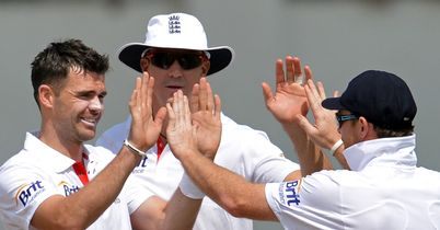 James Anderson: Took 10 wickets in the match