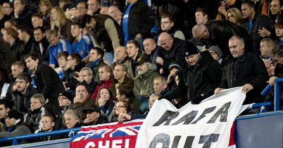 Chelsea fans: Unhappy about Benitez appointment