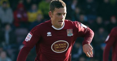 Danny East: On loan at Northampton from Hull