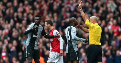 Emmanuel Adebayor: Tottenham striker says sorry after red card against Arsenal