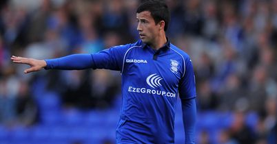 Keith Fahey: Birmingham midfielder out for the season