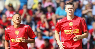 Jesse Lingard and Michael Keane: Leicester take Manchester United duo on loan