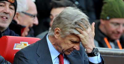 Arsene Wenger: Arsenal manager is still targeting a top-three finish in the Premier League