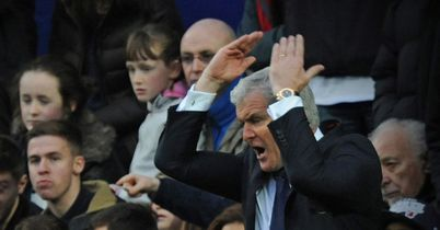 Mark Hughes: Feeling the heat