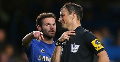 Clattenburg: With Chelsea's Mata on Sunday