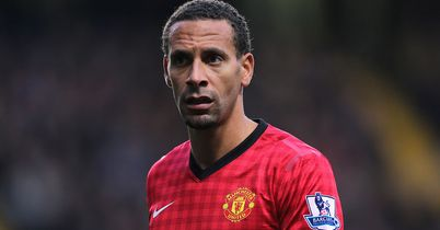 Rio Ferdinand: Boosted by Sir Alex Ferguson's comments