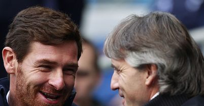 Villas-Boas and Mancini: Both have been criticised