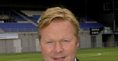 Ronald Koeman: Has been doing a good job with Feyenoord
