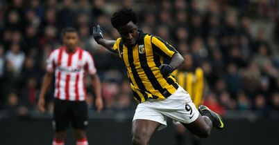 Wilfried Bony: Scored winner for Vitesse Arnhem