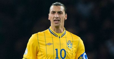 Zlatan Ibrahimovic: With his hat-trick ball
