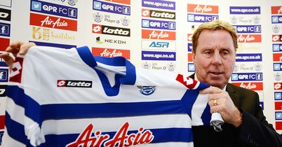 Harry Redknapp: 40/1 to help QPR finish above Spurs this season