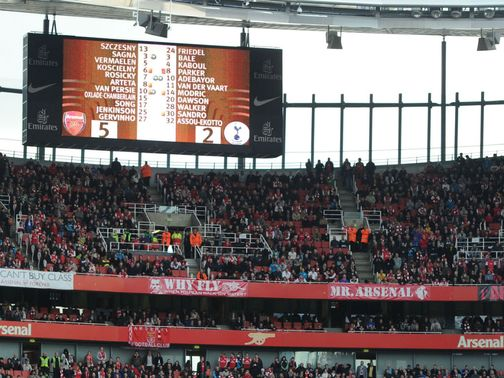 There should be more goals at the Emirates Stadium