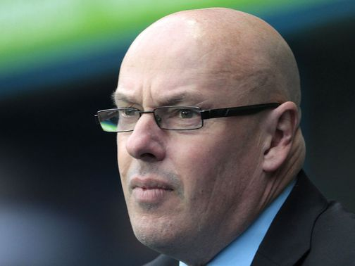 Brian McDermott: Saluted by Madejski