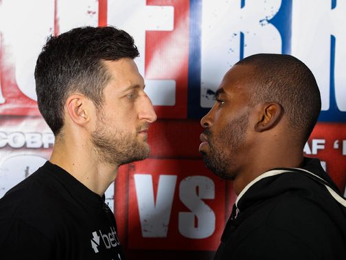 Froch and Mack meet on Saturday in Nottingham
