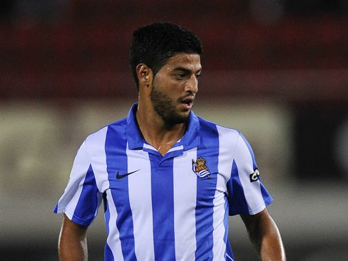 Carlos Vela: Twice on target in Sociedad win