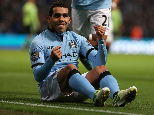 Carlos Tevez: To pay a total in fines of £1,540