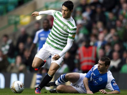 Celtic drew 1-1 with St Johnstone on Sunday