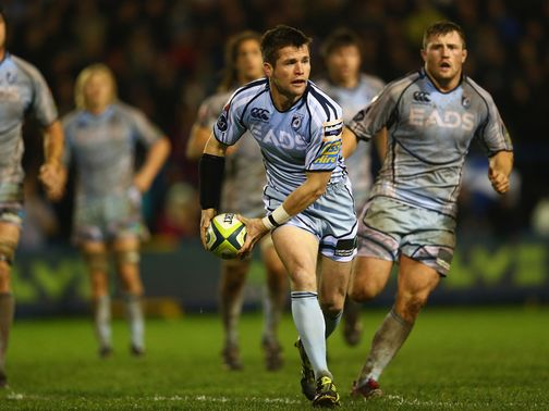 Ceri Sweeney: His kicking proved crucial