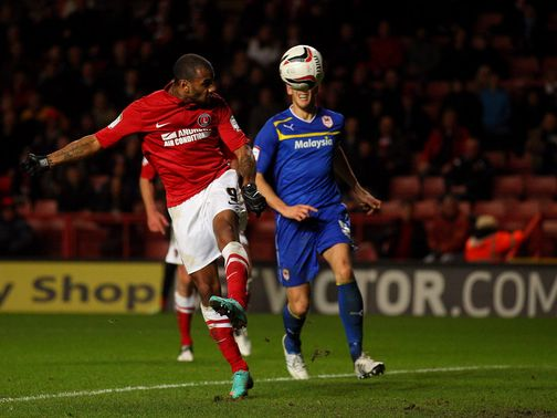 Danny Haynes scores Charlton&#39;s fourth goal
