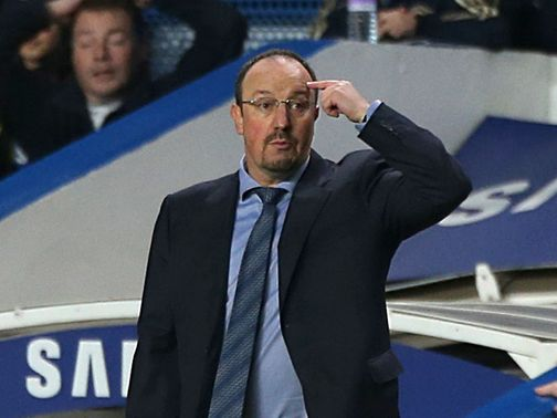 Benitez: Frosty reception at Stamford Bridge