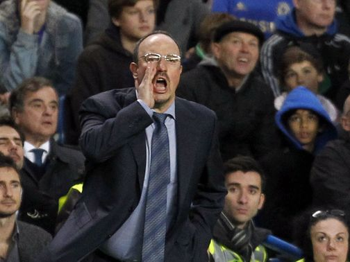 Rafael Benitez: Angered some Chelsea fans