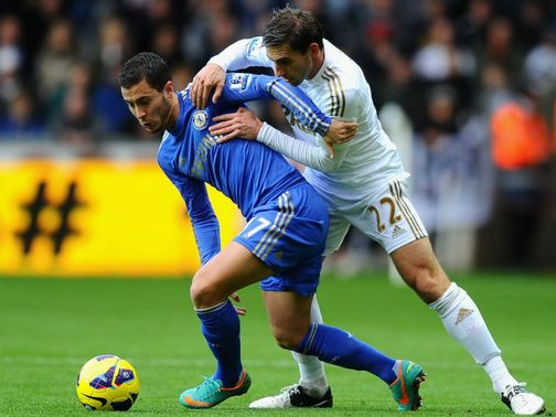 Angel Rangel: Will have Edin Hazard to deal with again on Wednesday