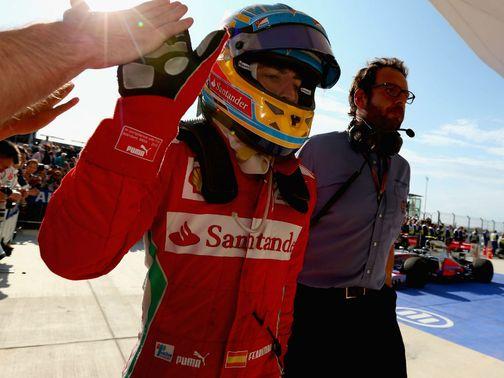 Фернандо Алонсо, Гран-При Бразилии 2012, гонка