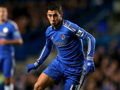 Eden Hazard: Begins his ban for Chelsea