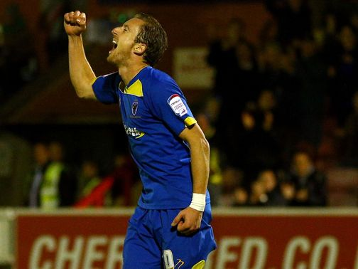 AFC Wimbledon are set to face MK Dons