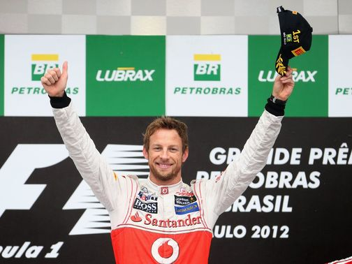 Jenson Button: Won first and last races of the 2012 season