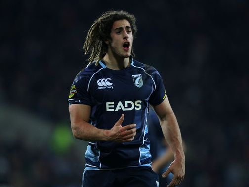 Josh Navidi: Will skipper Cardiff Blues against Wasps