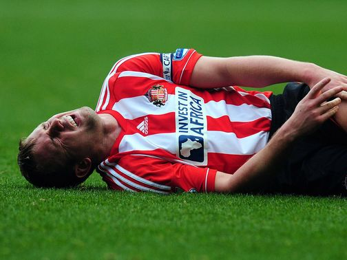 Lee Cattermole: Sidelined for two months