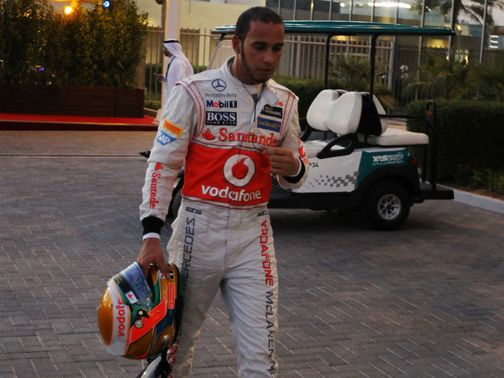 Lewis Hamilton: Bemoaning his bad luck