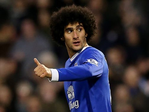 Marouane Fellaini: Happy to push for Everton honours