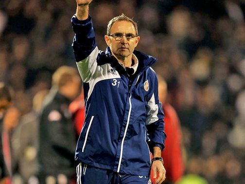 Martin O&#39;Neill: Targets success
