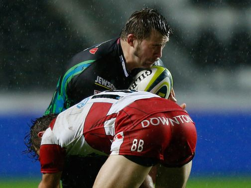 Morgan Allen: Sealed victory for Ospreys