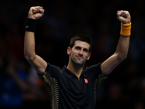 Novak Djokovic: Cruised into the last four