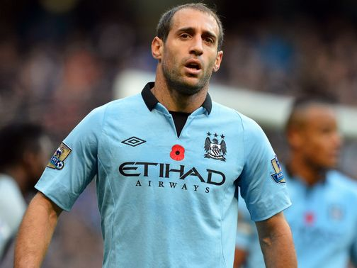 Pablo Zabaleta: Gutted after Champions League exit