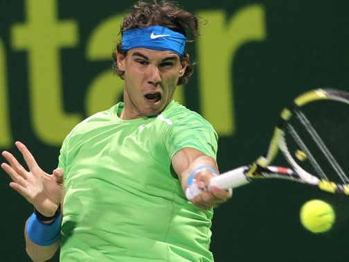 Rafael Nadal: Out of Abu Dhabi event