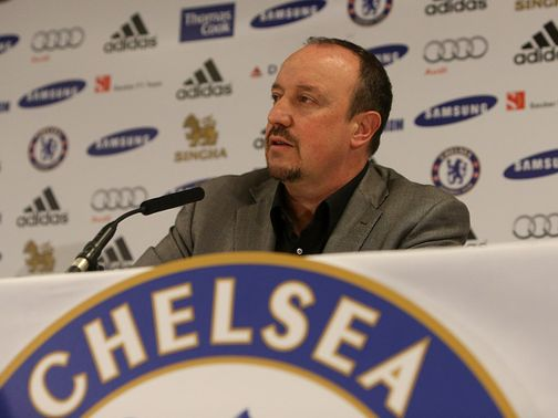 Benitez: Says he will 'behave' against Leeds