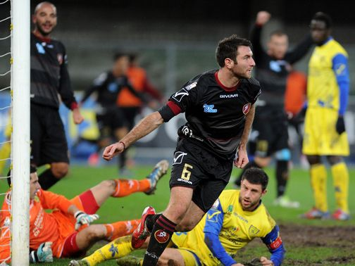 Fabio Lucioni netted a famous winner for Reggina