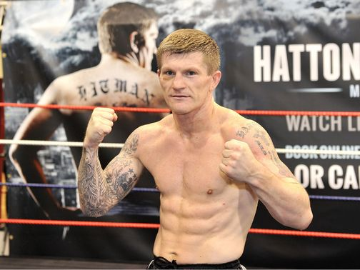 Ricky Hatton: Faces Vyacheslav Senchenko in Manchester