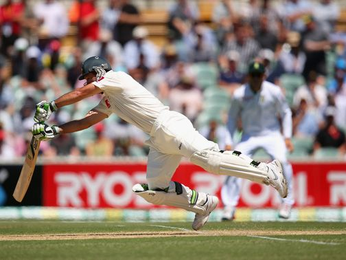 Ponting: Struggling for form against South Africa