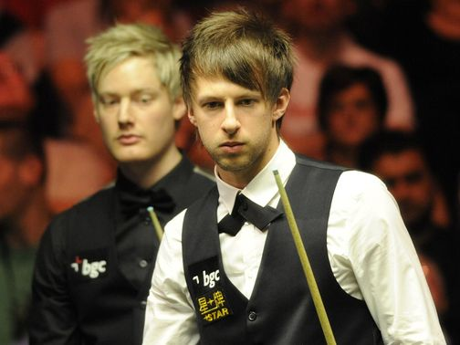 Judd Trump can take care of Neil Robertson